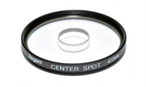 49mm Centre Spot Clear Filter Made in Japan